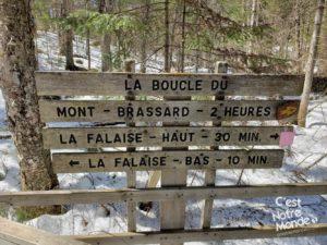 Brassard Parc régional des sept chutes