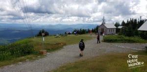 Le Mont Mégantic, dans le parc national du Mont-Mégantic au coeur des Cantons-de-l'Est