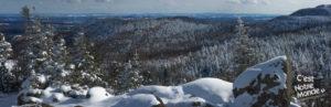 Le Pic de l'ours par le sentier des crêtes, parc National du Mont-Orford